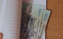 Dọn nhà đón Tết, phát hiện thấy tiền kẹp trong sách cũ, cô gái bất khóc nức nở khi biết người gửi