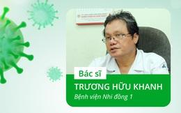 [Ảnh sức khỏe] BS Trương Hữu Khanh tiếp tục chỉ ra điều đáng mừng dù số ca COVID-19 tiếp tục tăng mạnh