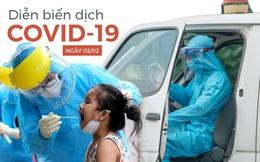 Tính đến 18 giờ hôm nay, Việt Nam đã có 1.911 ca mắc Covid-19
