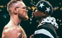 """McGregor bất ngờ gửi lời chúc sinh nhật sớm tới Mayweather, tiện thể """"cà khịa"""" luôn đối thủ cũ"""