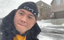 Hàn Thái Tú bị cắt điện, không rút được tiền, phải đi ở nhờ tại Mỹ