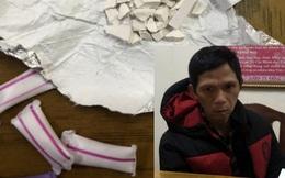 Lấy lời khai vụ trộm, phát hiện 11 ống đựng ma túy