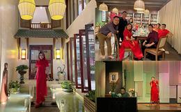 Thanh Thảo hé lộ biệt thự sang trọng như resort thu nhỏ của Quang Dũng