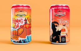 Bia Việt Nam đầu tiên mang tên Hoàng Sa, Trường Sa: Trên vỏ chai có dấu tích khẳng định chủ quyền biển đảo
