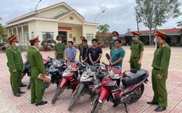 Bắt giữ hai nhóm đối tượng chuyên trộm cắp xe máy liên tỉnh