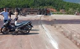 Quảng Bình: Va chạm xe đầu kéo, 2 thanh niên tử vong tại chỗ