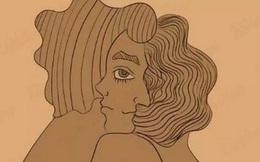 Nhìn khuôn mặt cặp đôi quấn quýt lấy nhau, bạn thấy nam hay nữ trước tiên?