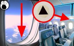 Tiếp viên hàng không tiết lộ 5 điều ít ai để ý khi đi máy bay: Bạn có biết ý nghĩa của hình tam giác này?
