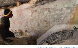 Phát hiện bức tranh khắc đá lâu đời nhất tạiAustralia