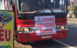 Đà Nẵng: Xử lý xe khách 52 chỗ cố tình vượt chốt kiểm soát dịch Covid-19