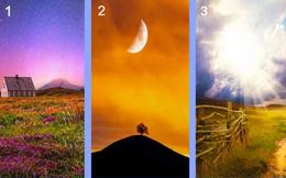 Chọn một hình ảnh phong cảnh để kiểm tra tố chất lãnh đạo: Người chọn số 3 không hề tầm thường!