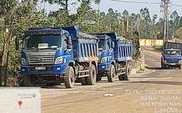 """Bí ẩn đoàn xe tải chở """"chất lạ"""", gây rối, đe dọa cán bộ ở bãi rác Khánh Sơn"""