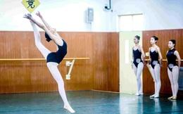 24h qua ảnh: Nữ sinh Trung Quốc trình diễn múa để thi vào trường nghệ thuật