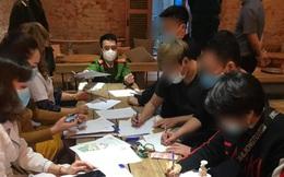 """Hà Nội: 30 khách không đeo khẩu trang trong quán cà phê mở """"chui"""" mùa dịch Covid-19 bị phạt 60 triệu"""