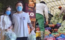 Vợ chồng Tuấn Hưng giải cứu 8 tấn nông sản cho bà con tỉnh Hải Dương gặp khó khăn giữa dịch Covid-19