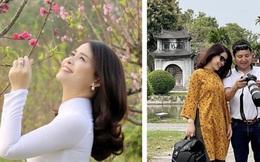 """Nghệ sĩ Chí Trung làm """"phó nháy"""" cho bạn gái, Vân Dung khen trong veo như nữ sinh"""