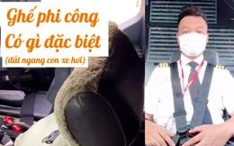 Ghế phi công có gì đặc biệt mà giá lại đắt ngang 1 chiếc xe hơi: Tiết lộ của người trong nghề có thể khiến bạn bất ngờ đấy!