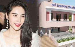 Thủy Tiên công bố hình ảnh xây dựng 10 nhà chống lũ cho bà con miền Trung, kinh phí trích từ quỹ từ thiện 177 tỷ đồng