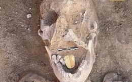 Xác ướp lưỡi vàng 2.000 năm tuổi xuất hiện ở Ai Cập