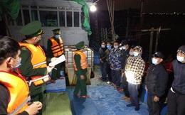 Đi đánh cá từ vùng biển Vân Đồn về, 11 ngư dân Thanh Hóa cũng phải cách ly ngừa Covid-19