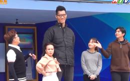 """Bị chê lùn, Việt Hương khoe """"con trai nuôi"""" cao 2,2 mét khiến khán giả trầm trồ"""