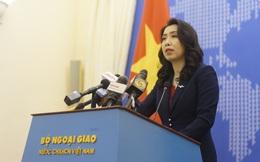 VN phản ứng việc TQ cho phép hải cảnh sử dụng vũ khí: Sẽ kiên quyết bảo vệ các quyền hợp pháp