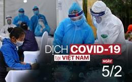 Sinh viên Trường ĐH Sư phạm Hà Nội âm tính SARS-CoV-2; Từ 12h ngày 06/02, người ra vào Hải Phòng yêu cầu phải có 'giấy đi lại'