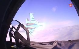"""Xem phi công Su-34 Nga nhào lộn, ném bom P-50T tiêu diệt mục tiêu """"kẻ thù"""""""