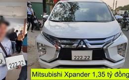 Bốc biển ngũ quý '222.22', chủ xe Mitsubishi Xpander lập tức rao bán giá 1 tỷ 350 triệu đồng