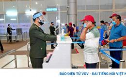 47/47 trường hợp F1 của nhân viên sân bay Tân Sơn Nhất âm tính lần 1