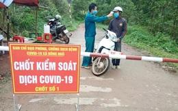 Truy đuổi người đàn ông chạy xe máy trốn chốt kiểm soát dịch bệnh Covid-19