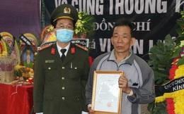 Thăng quân hàm Trung tá cho sĩ quan công an hi sinh khi vây bắt tội phạm ngày giáp Tết