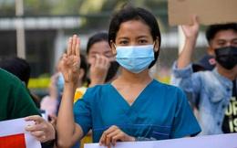 Biểu tình lan khắp cả nước, y tá, nhà sư Myanmar lên tuyến đầu