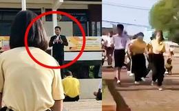 Bị phát hiện quan hệ với nữ sinh trong trường, thầy hiệu trưởng xin lỗi rồi có hành động bất ngờ khiến cả trường hoảng loạn bỏ chạy