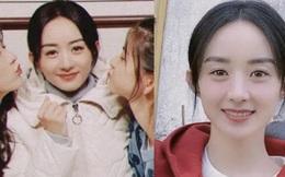 Đồng nghiệp 'bắt trọn' nhan sắc của Triệu Lệ Dĩnh tại buổi đóng máy phim mới: 'Hack tuổi' đỉnh cao, quyết không lép vế đàn em