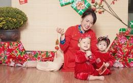 MC Thùy Dương hạnh phúc khoe cặp song sinh sau 11 năm hiếm muộn