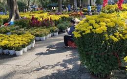 28 Tết, người bán hoa Tết ở TP HCM muốn khóc sau trận mưa bất ngờ