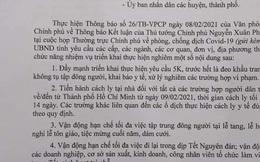 Chủ tịch Đắk Nông: Tình hình rất căng nên phải cách ly tất cả người về từ TP HCM