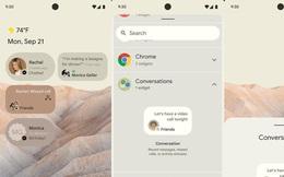 Đây là Android 12 với giao diện hoàn toàn mới, nhiều tính năng 'bắt chước' iOS