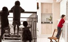 """Những lưu ý nhỏ trong thiết kế ban công nhà cao tầng, không tốn quá nhiều chi phí nhưng tránh nguy hiểm """"chết người"""" tiềm ẩn cho trẻ"""
