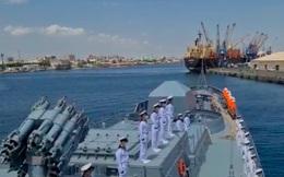 Tàu khu trục Nga Đô đốc Grigorovich lần đầu cập cảng Port Sudan