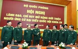 Quốc hội khóa XV có 33 đại biểu quân đội