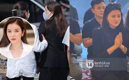 Lễ cúng thất của 'phù thuỷ' trang điểm Minh Lộc: Lý Nhã Kỳ suy sụp đứng không vững, Vũ Thu Phương rơi nước mắt trước bàn thờ bạn thân