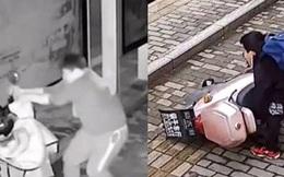 """Gã đàn ông say rượu đạp đổ xe điện trong đêm, thái độ cùng hành động của đứa trẻ sáng hôm sau khiến dân mạng """"dậy sóng"""""""