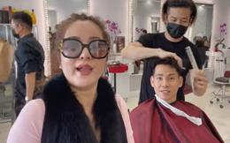 Thúy Nga phát đồ cho người vô gia cư tại Mỹ, tình cờ gặp bạn trai cố diễn viên Mai Phương