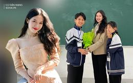 """Nữ giáo viên Nghệ An sở hữu nhan sắc """"chuẩn hoa hậu"""", bị học sinh hỏi thăm nhiều nên rất ngại ngùng"""