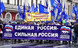 Thăm dò Levada: Tỉ lệ ủng hộ đảng cầm quyền Nga thấp đáng báo động - Ông Putin nên lo lắng?