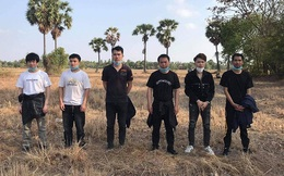 """Dịch COVID-19 bùng phát mạnh ở Campuchia: Chính quyền bắt giữ 6 người TQ """"lang thang"""" trên đồng"""