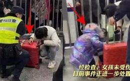"""Mẹ trẻ nhét con gái 5 tuổi vào vali vì nguyên nhân """"ngang ngược"""", khung cảnh hiện trường khiến ai cũng bức xúc"""