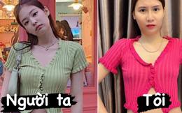 Mua áo giống Jennie (BLACKPINK) về mặc, Thanh Trần nhận 'trái đắng' vì một điểm khác biệt